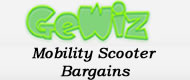 GeWiz Mobility Scooter Bargains